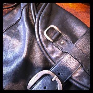 Bally shoulder bag with tassel